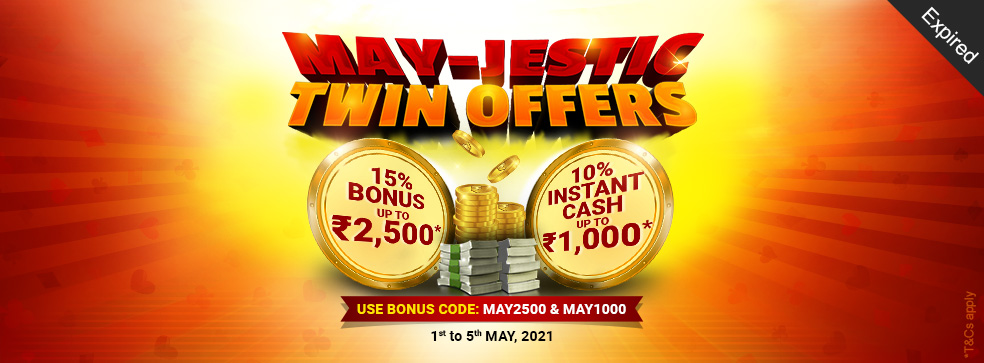 May-Jestic Twin Offers