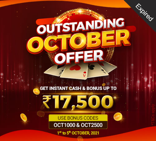 Outstanding October Offer