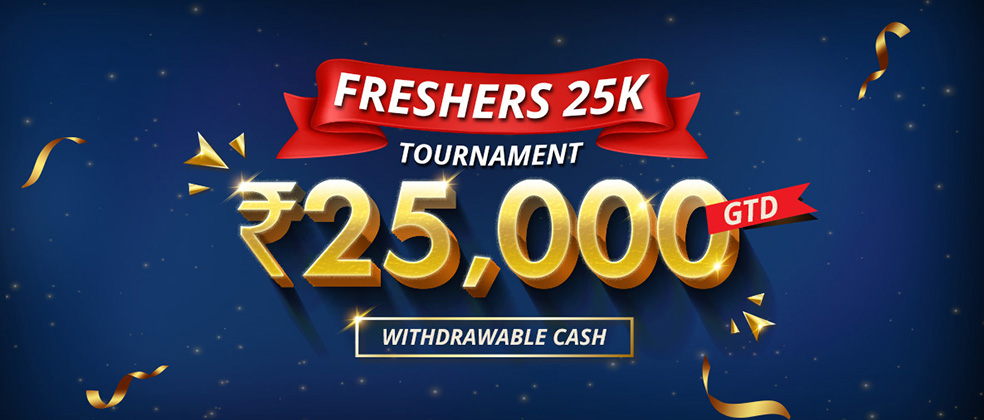 Freshers 25K Tournament