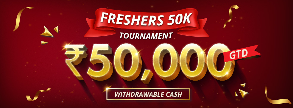 Freshers 50K Tournament
