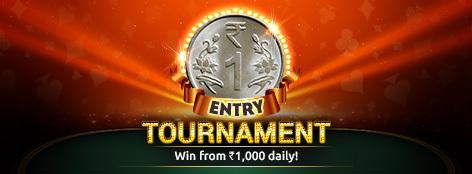 Re. 1 Entry Tournament