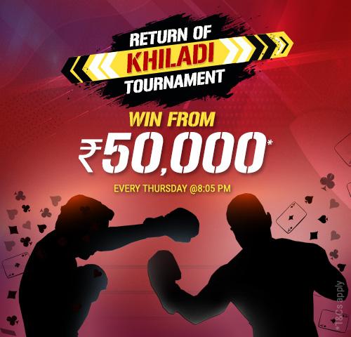 Return Of Khiladi Tournament