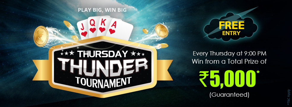 thursday thunder tournament