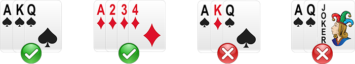 rummy life correct form